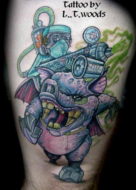 Tattoos - Swine Flu - 66836