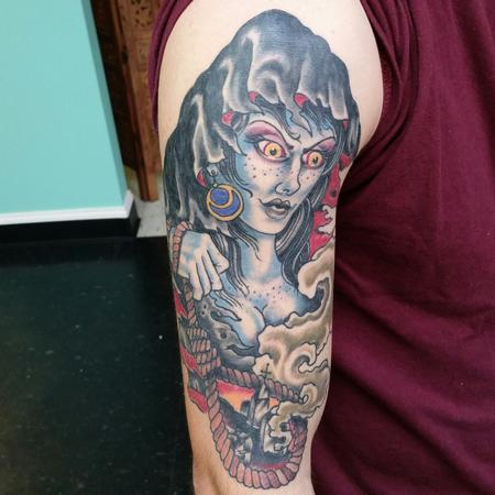 Tattoos - Lady death - 100709