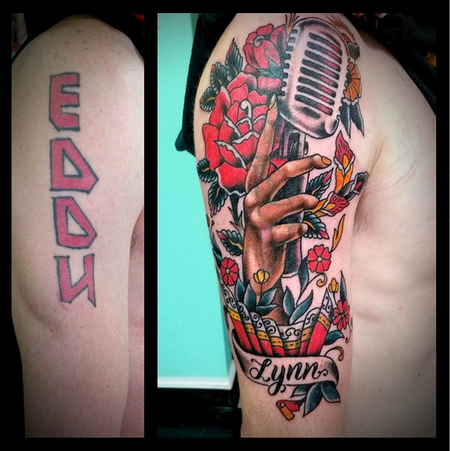 Tattoos - Microphone Cover Up  - 103905