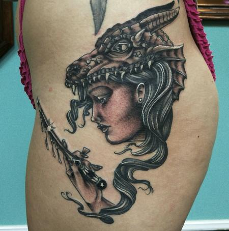 Tattoos - Dragon Slayer - 111408