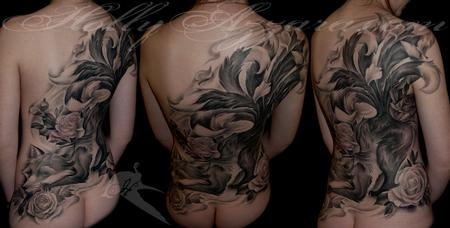 Tattoos - Kitsune  - 109219