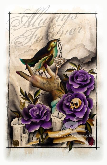 Tattoos - Limited Edition Memorial Art Print - 58073