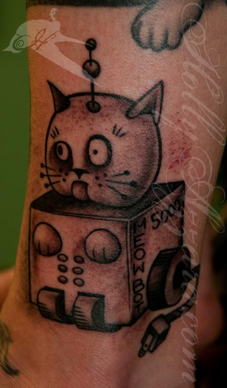 Tattoos - Meowbot - 95858