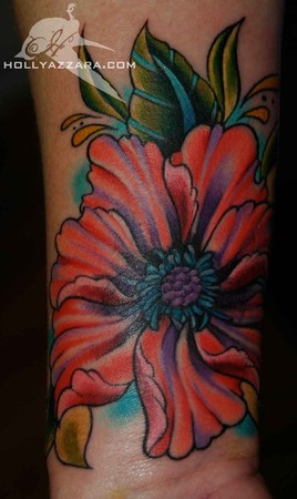Holly Azzara - Flower Cover Up