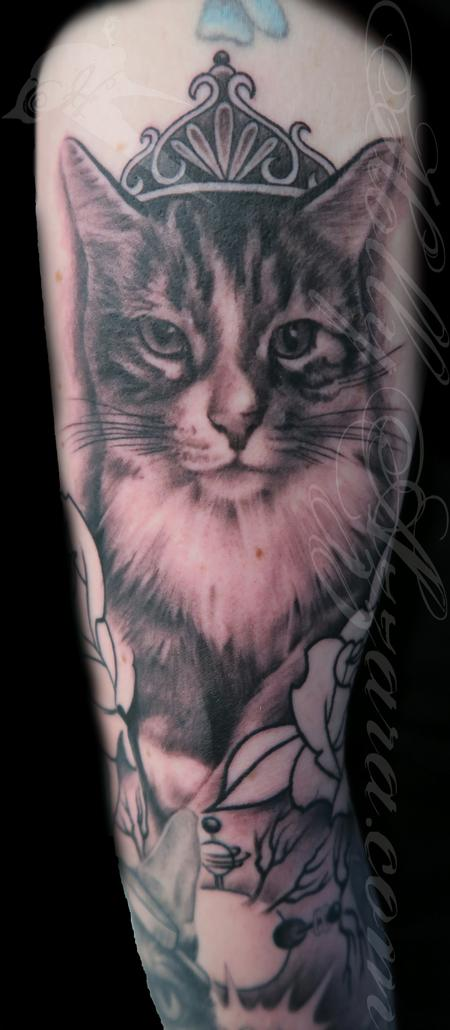 Tattoos - Princess kitty - 119750
