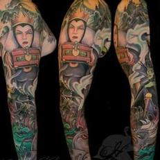 Tattoos - Disney evil queen sleeve spread - 115562
