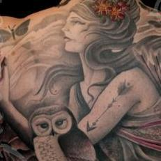 Tattoos - Sagittarius backpiece - 119779