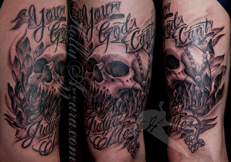 Фото татуировок бог мне судья
