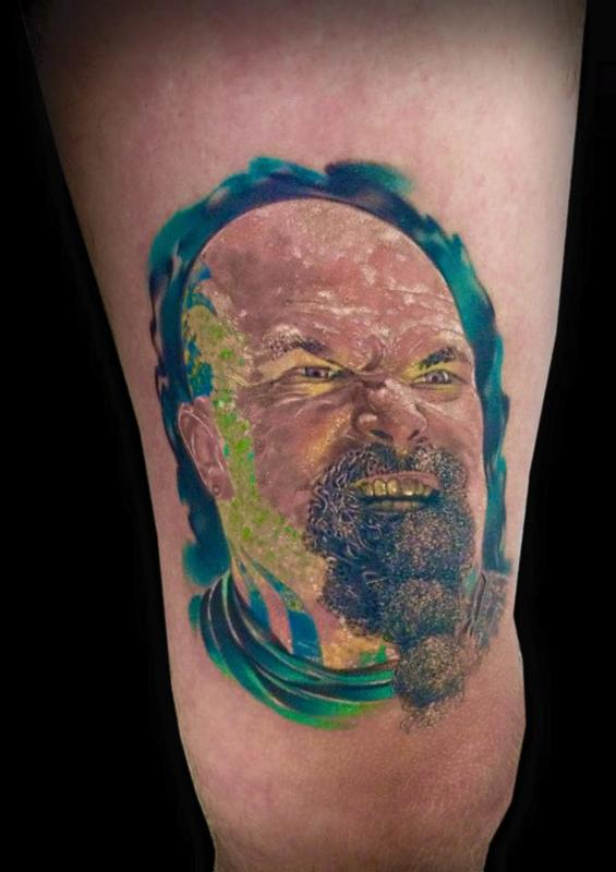 Kerry King Slayer by Silvio Vukadin: TattooNOW