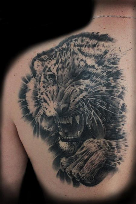 Tattoos - Tiger portrait - 91412