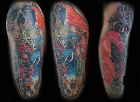 Tattoos - Birds and Death - 91273