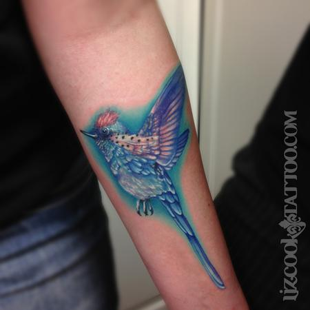 Tattoos - Long Tailed Sylph - 94278
