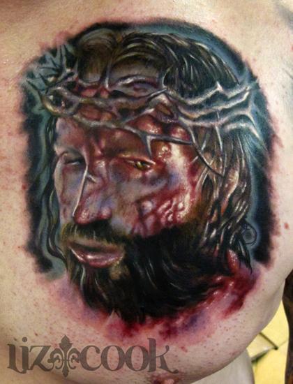 Tattoos - Jesus Portrait - 63657