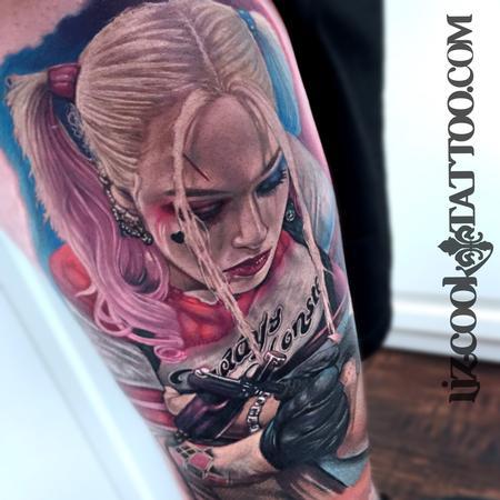 Margot Robbie Harley Quinn Tattoo Thumbnail