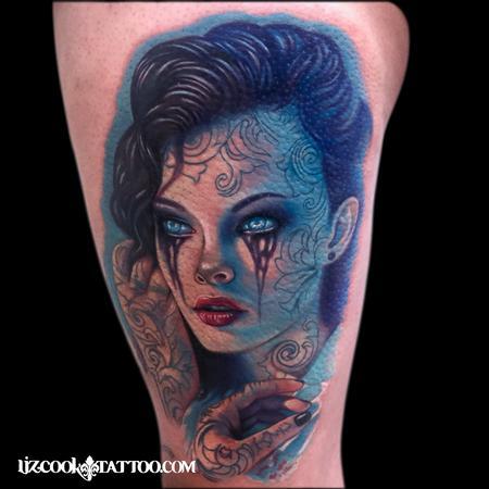 Got the Blues Tattoo Thumbnail