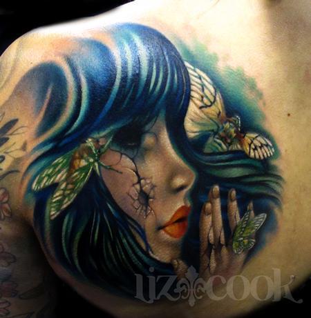 Tattoos - Doll and Cicadas - 70642