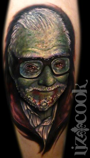 Tattoos - George Romero Zombie Portrait - 63889