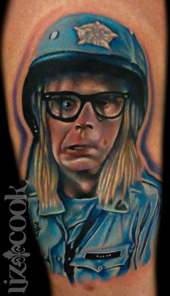 Garth Algar-Wayne's World 2 Tattoo Design Thumbnail