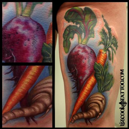 Veggie Love Tattoo Design Thumbnail