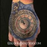 Tattoos - Time Piece on the Hand - 99401