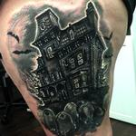 Tattoos - Haunted House - 111931