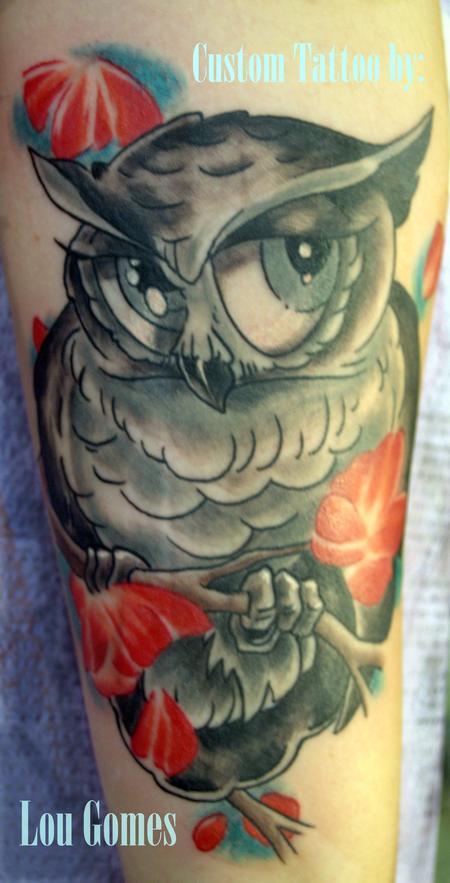Tattoos - Cute Hooter - 131528