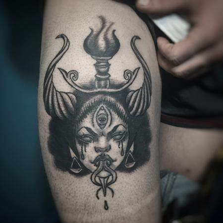 Baphomet Tattoo Design Thumbnail