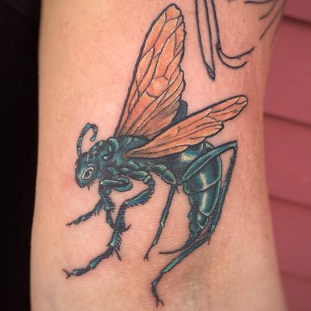 Tattoos - Tarantula Hawk Wasp - 128236