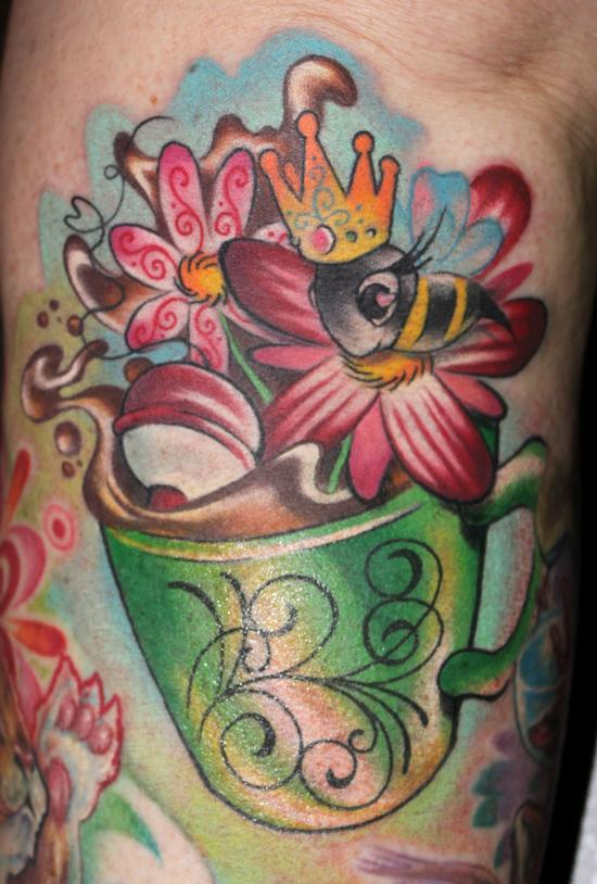 Kristel Oreto - Cup of Joe Tattoo