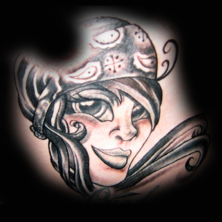 Wes#39;s Mexican Diva Tattoo