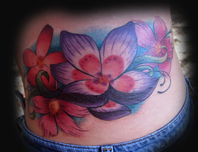 tattoo pictures of flowers. tattoos Tattoos? Flowers