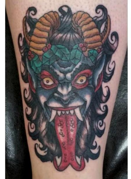 Tattoos - Krampus Tattoo - 119451