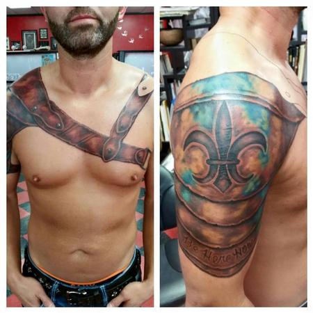 Tattoos - Armor Tattoo - 119453