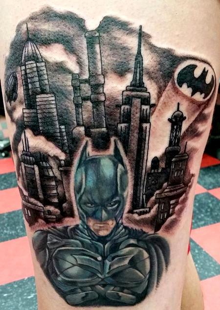 Tattoos - Batman Tattoo - 117564