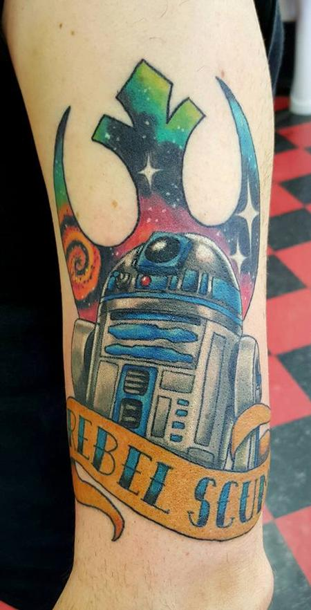 Tattoos - R2D2 Star Wars Tattoo - 123799