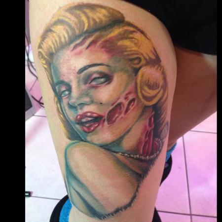 Tattoos - Zombie Marilyn Monroe - 98522