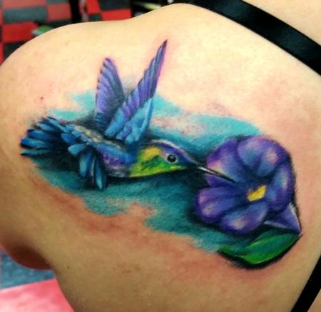 Tattoos - Hummingbird tattoo - 116780