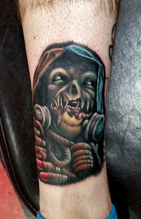 krampus tattoo by jesse neumann tattoonow