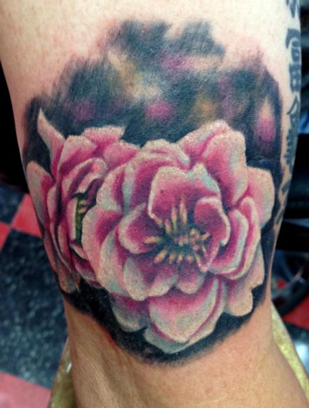 Tattoos - Cherry Blossom Tattoo - 116904