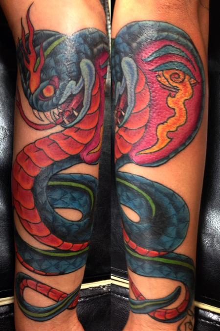 Tattoos - Cobra tattoo - 117829