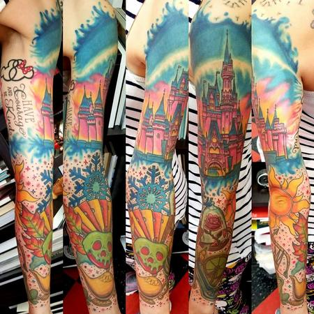 Tattoos - Disney Sleeve - 132284