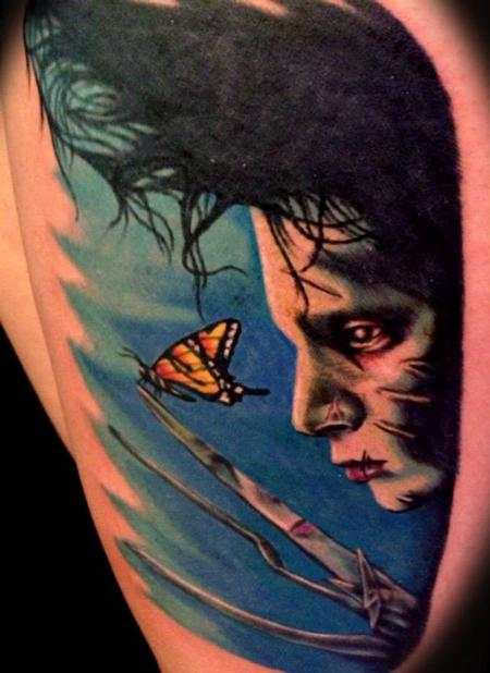 Tattoos - Edward Scissorhands - 91670