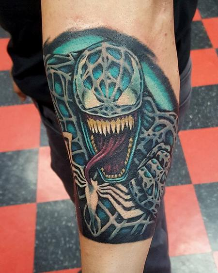 Tattoos - Venom Tattoo - 121914