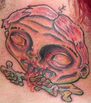 Zombie boy o by jason ackerman tattoonow for Jason ackerman tattoo