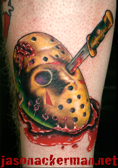 Jason Ackerman - friday the 13th jason voorhies mask