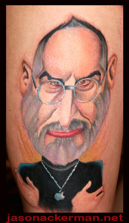Tattoos - Steve Jobs tattoo.... - 68104