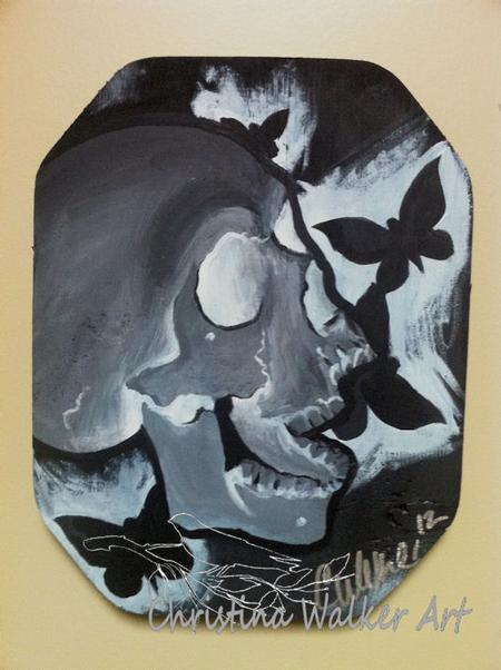 Christina Walker - Negative Skull