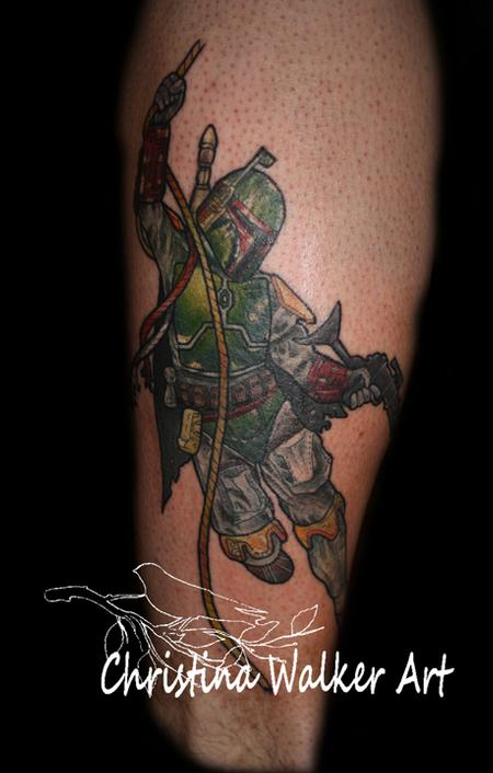 Tattoos - Boba Fett  - 62200