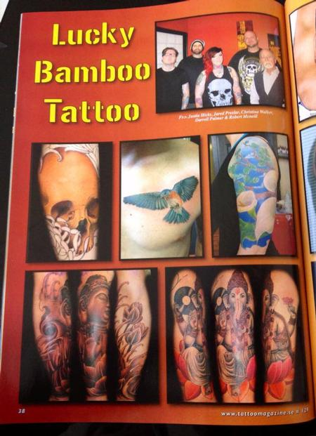 - Scandinavian Tattoo Magazine Feature Page 1