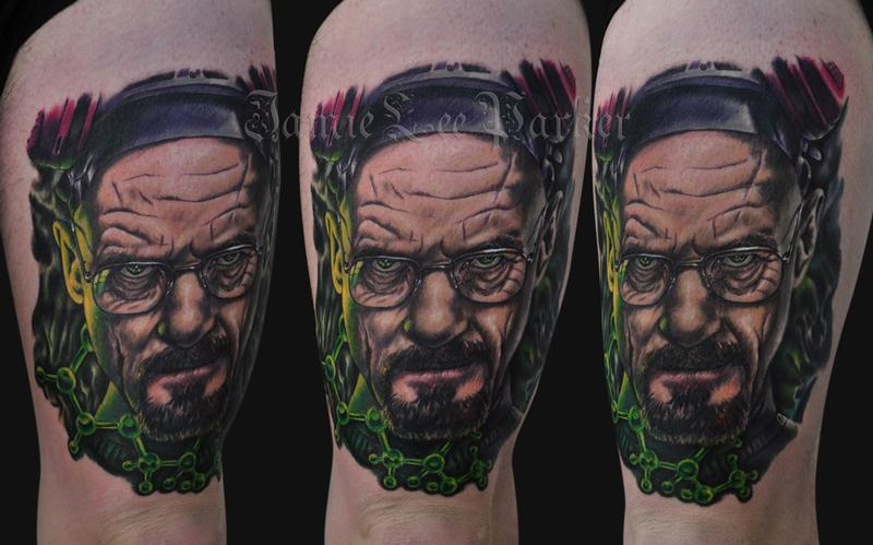 Jamie Parker - Breaking Bad Tattoo